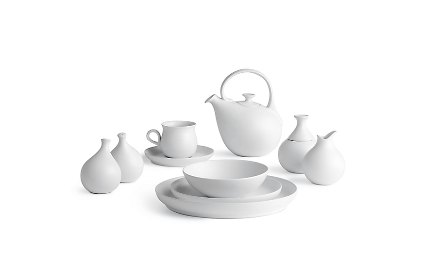 eva zeisel granit 25piece dinnerware set - White Dinnerware Sets
