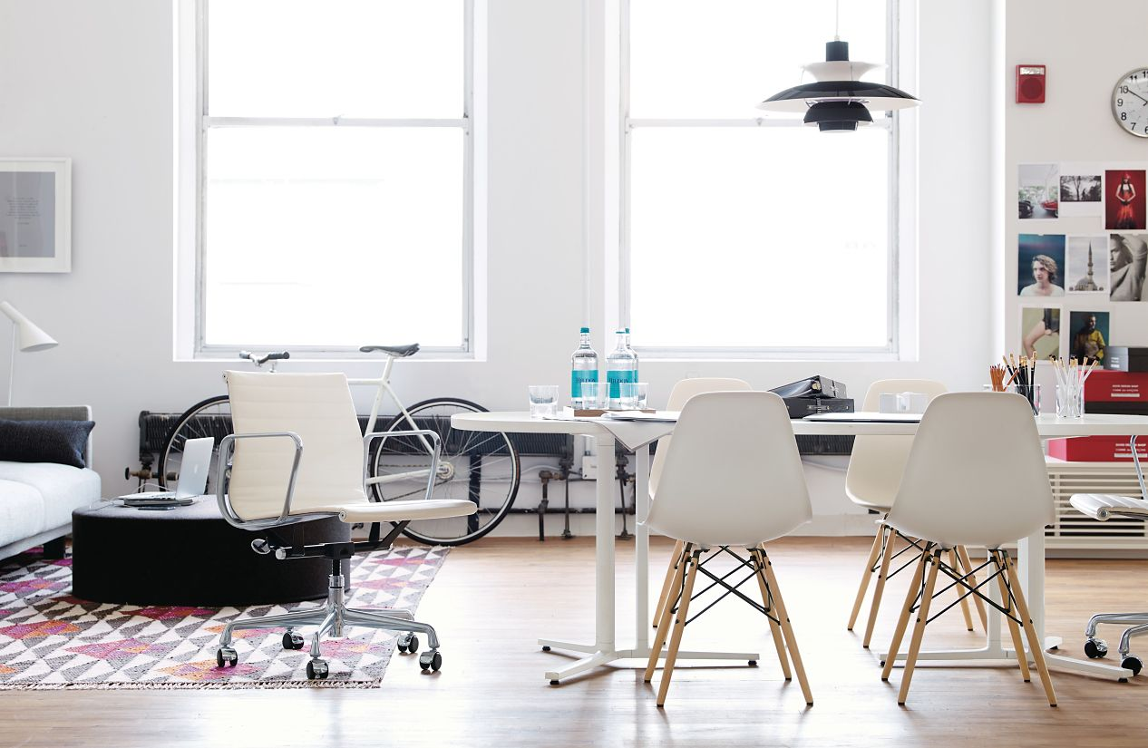 eames® aluminum management chair  design within reach - eames® aluminum management chair