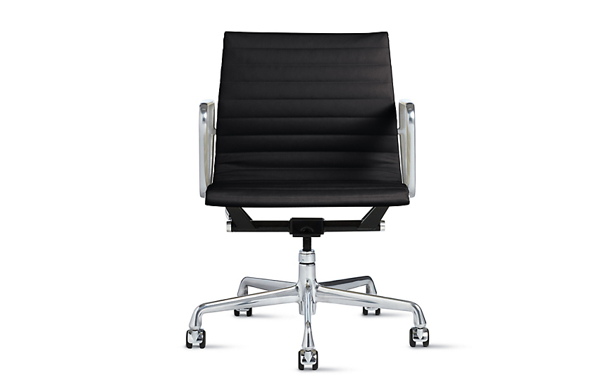 Eames aluminum group management chair herman miller for Herman miller eames aluminum group management chair