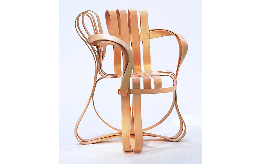 Superbe Gehry Cross Check™ Armchair