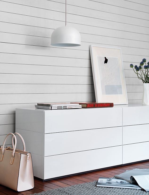 Brix Three-Drawer Dresser