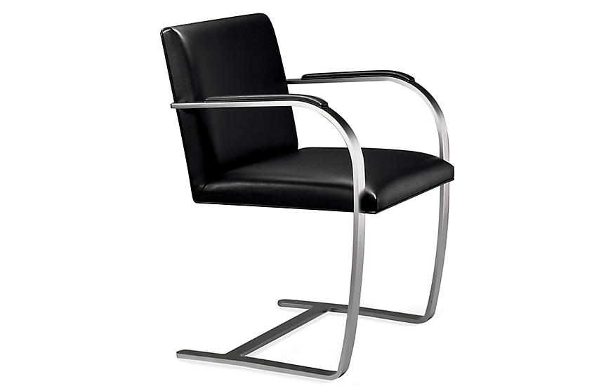 Brno Flat Bar Chair with Armpads