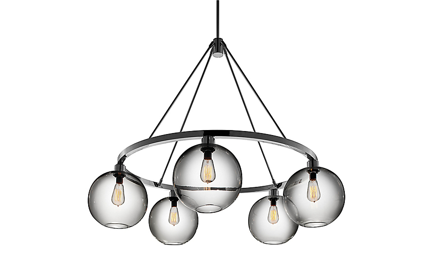 shades chandelier of lighting light modern midcentury products golden mobile century mid