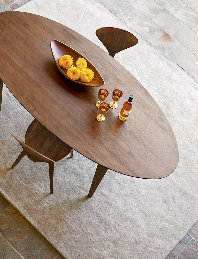 Cherner 84 Oval Table  Design Within Reach