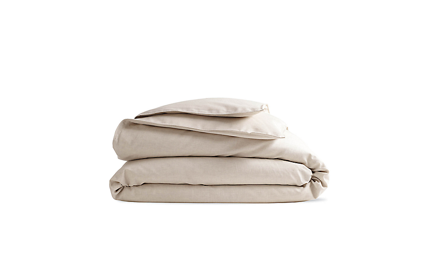 DWR Linen/Cotton Duvet Cover