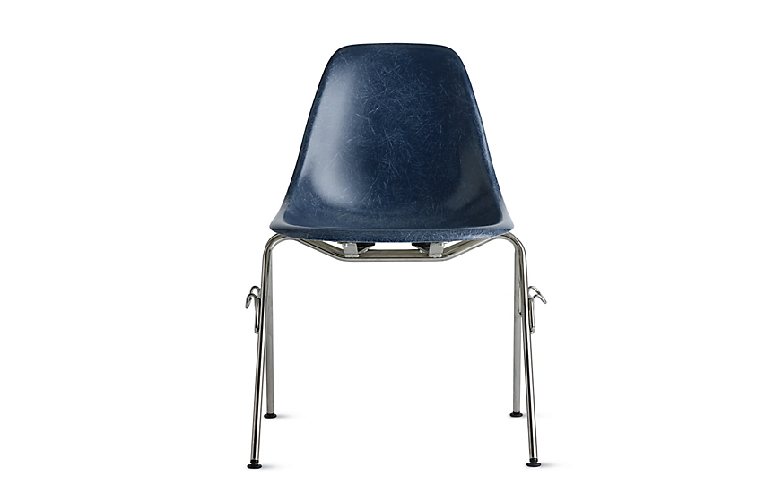Eames® Molded Fiberglass Stacking Side Chair (DFSS)