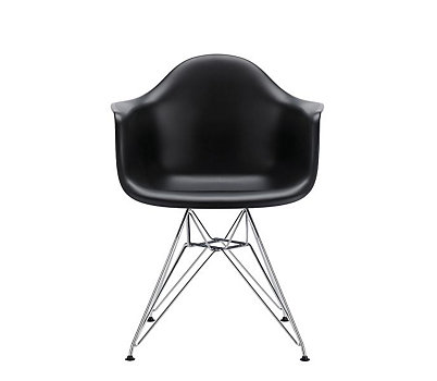 Eames® Molded Plastic Wire-Base Armchair (DAR)