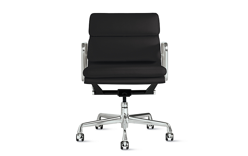 Eames Soft Pad Lounge Chair eames® soft pad management chair - design within reach