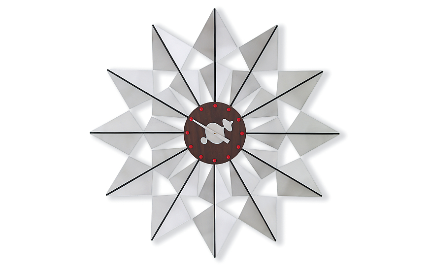 Nelson™ Flock of Butterflies Clock