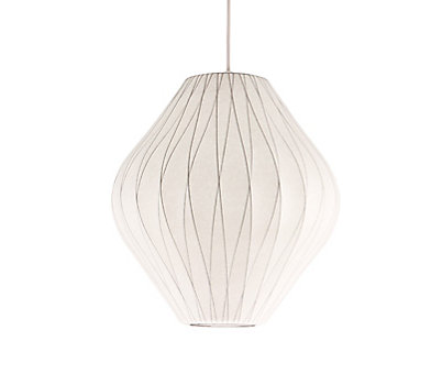 Modern ceiling lights design within reach nelson crisscross pear pendant lamp mozeypictures Images