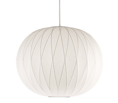 Modern ceiling lights design within reach nelson crisscross ball pendant lamp aloadofball Images