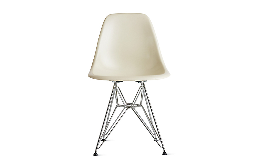 Eames® Molded Fiberglass Wire-Base Side Chair (DFSR)