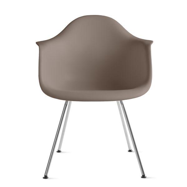 Eames Molded Plastic Armchair 4Leg Base Herman Miller