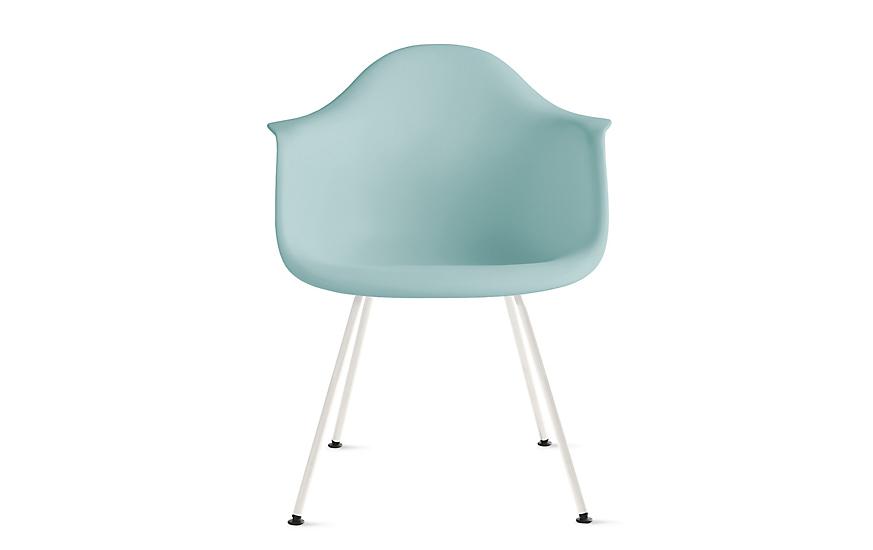 Eames® Molded Plastic 4-Leg Armchair (DAX)