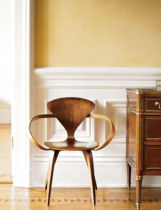 cherner armchair design within reach
