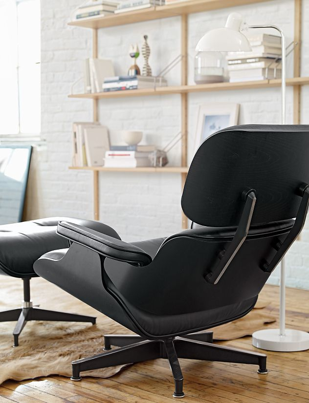 eames lounge chair and ottoman design within reach. Black Bedroom Furniture Sets. Home Design Ideas