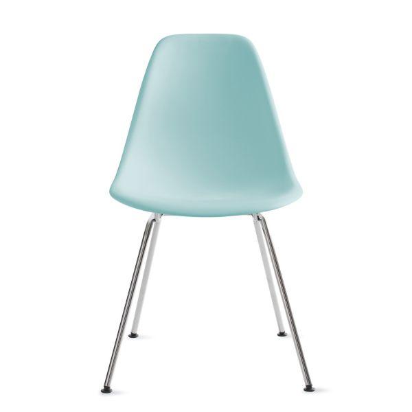Eames Molded Plastic Side Chair 4Leg Base Herman Miller