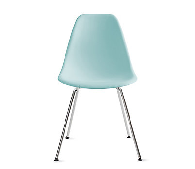 eames molded plastic wire base side chair dsr design within