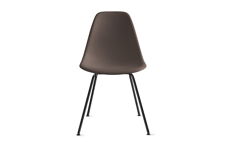 Eames® Molded Plastic 4-Leg Side Chair (DSX)