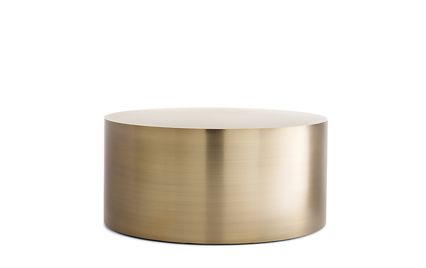 Ordinaire Drum Coffee Table