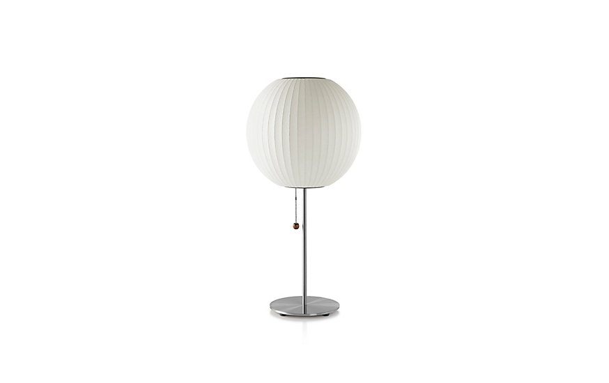 Nelson Lotus Table Lamp Ball