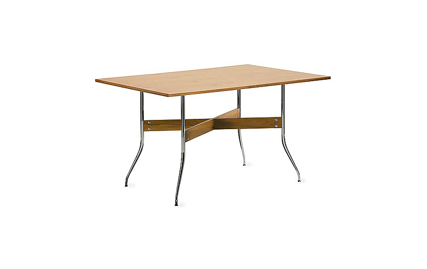 Nelson™ Swag Leg Rectangular Dining Table