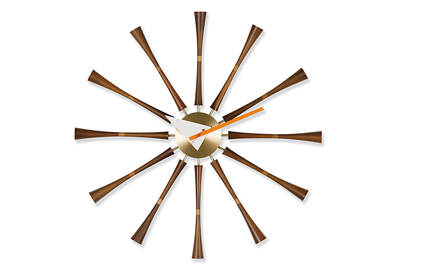 Nelson™ Spindle Clock