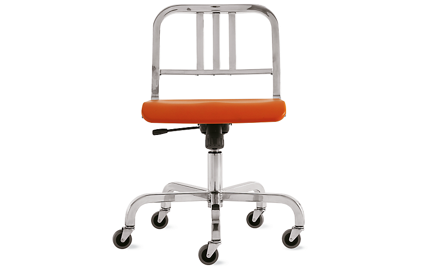 Nine-0 Swivel Chair - 3 Bar Back