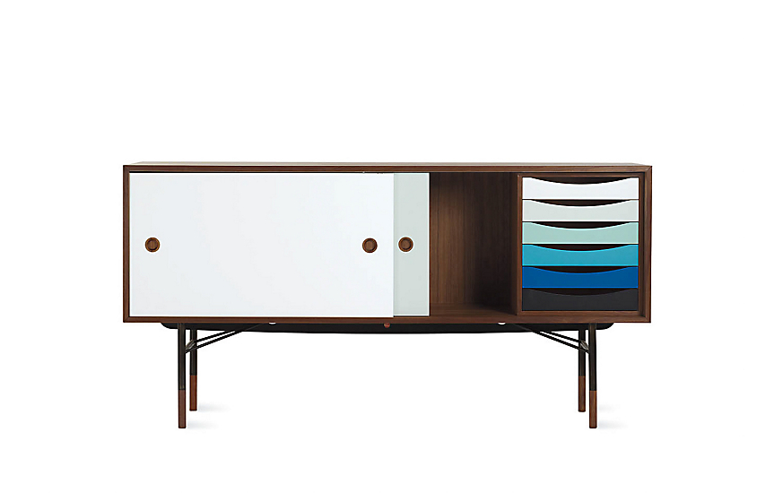 Finn Juhl Credenza - Design Within Reach Danish Modern Furniture Credenza on vintage danish modern furniture, danish modern dining chairs, danish modern bedroom furniture, vintage danish teak furniture,