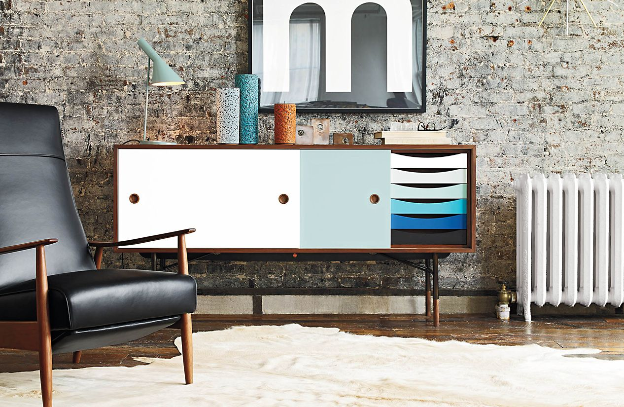 finn juhl credenza. Black Bedroom Furniture Sets. Home Design Ideas