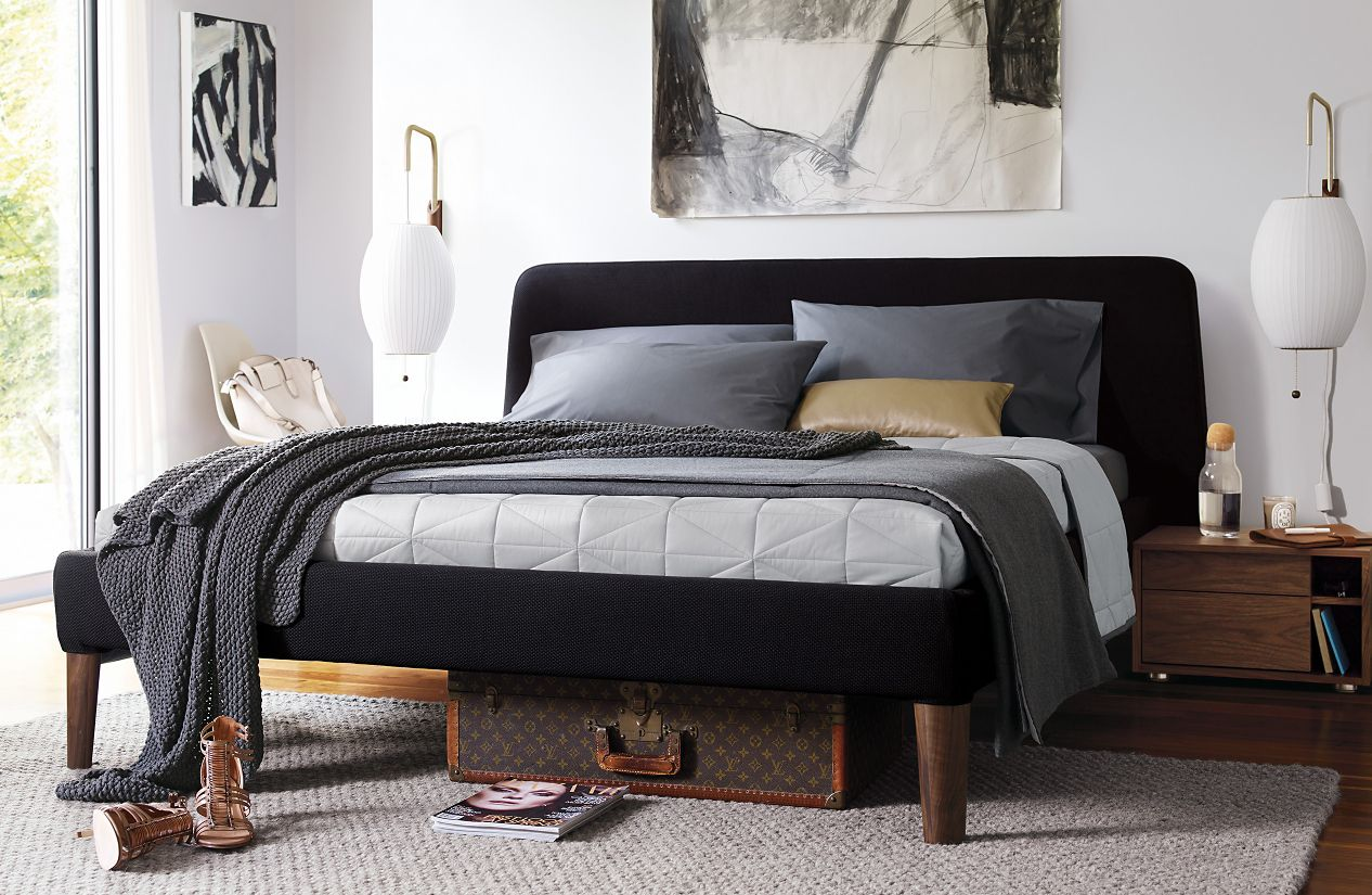Parallel bed design within reach - Design within reach bed frame ...