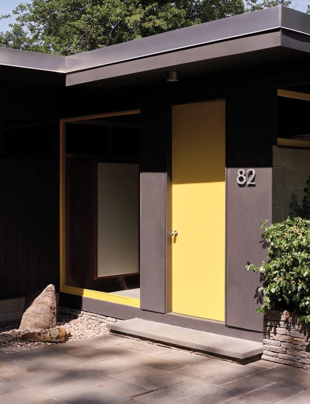 Neutra Modern House Numbers