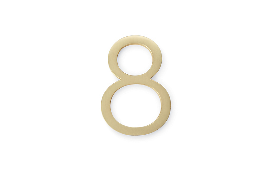 Genial Neutra Modern House Numbers