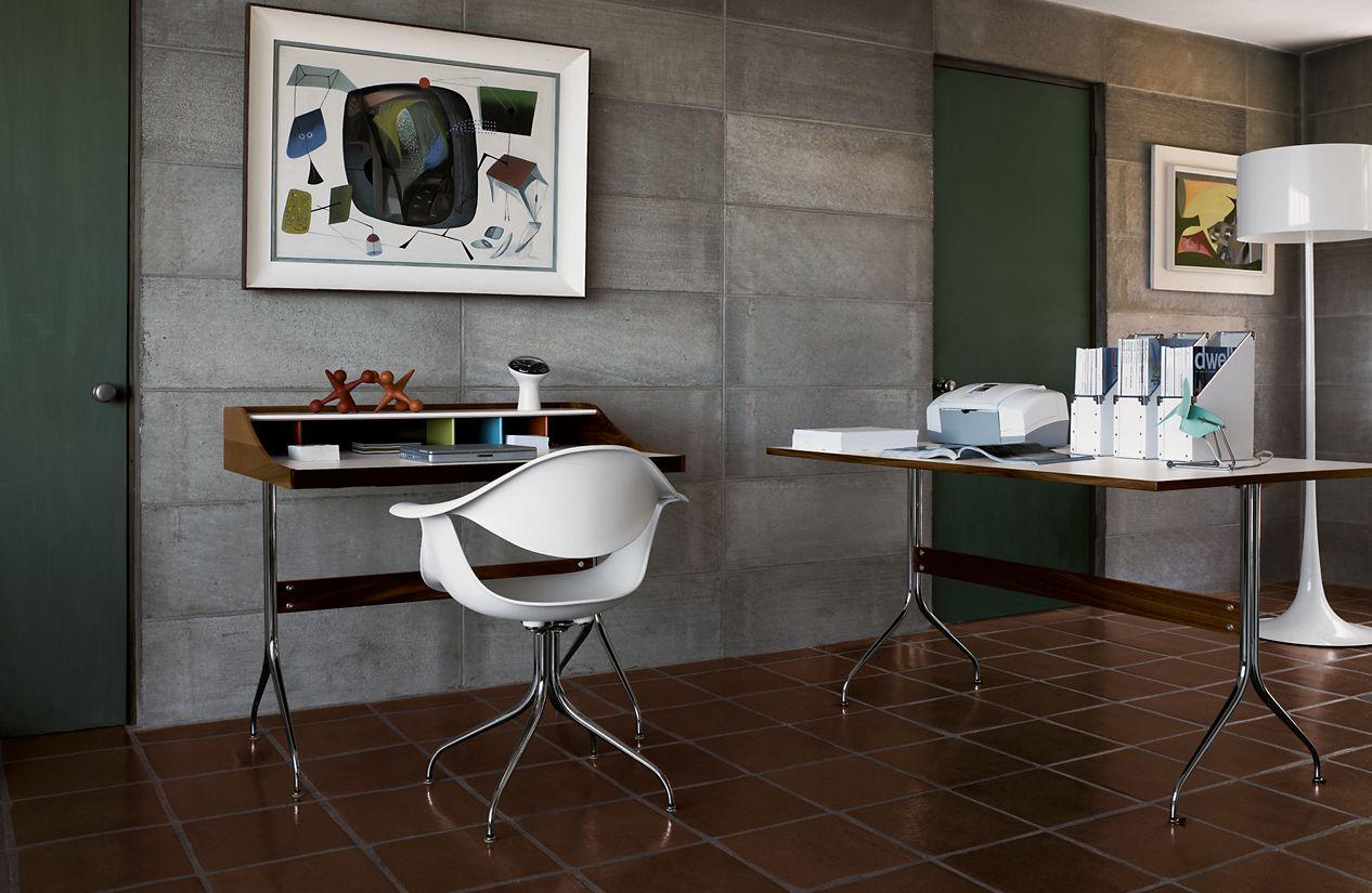 Nelson Swag Leg Desk Herman Miller