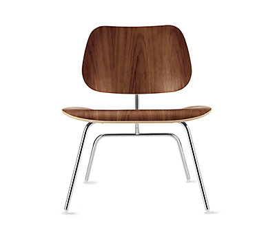 Beau Eames® Molded Plywood Lounge Chair (LCM)