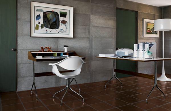 Nelson Swag Leg Work Table - Herman Miller