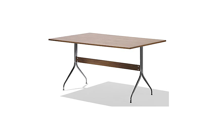 Nelson swag leg work table herman miller for Nelson swag leg table