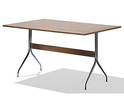 Nelson Swag Leg Rectangular Work Table