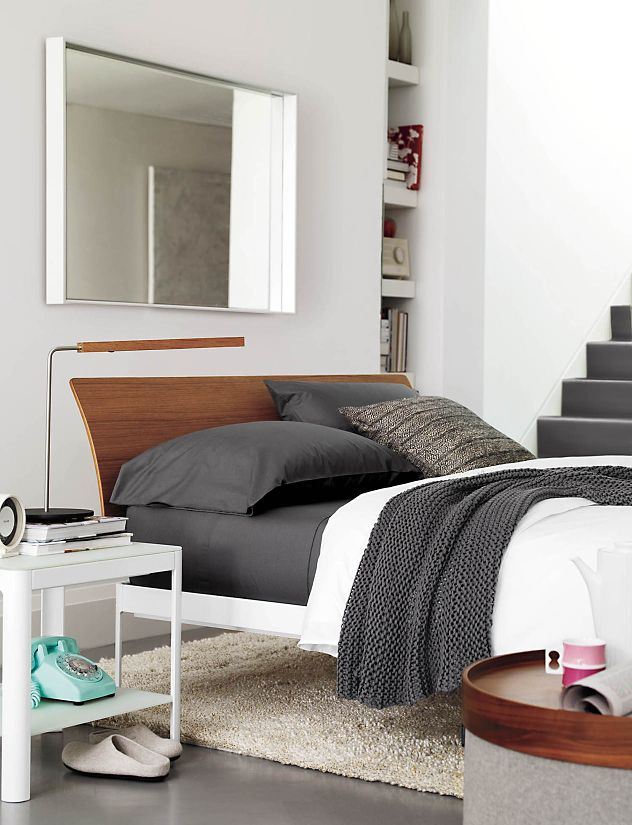Min Bed is a metal bed frame with simple beauty, designed by Studio Luciano Bertoncini for Design Within Reach. Look elegant rather than institutional, a best .