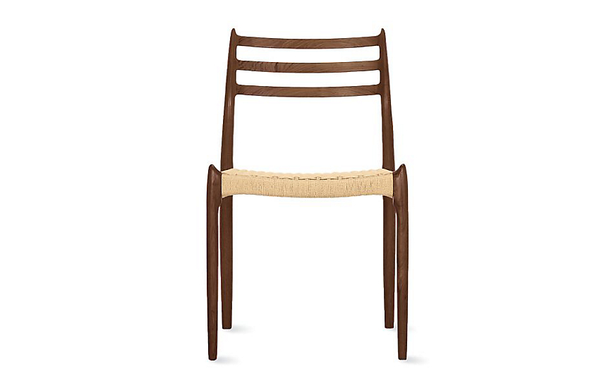 Charmant Møller Model 78 Side Chair