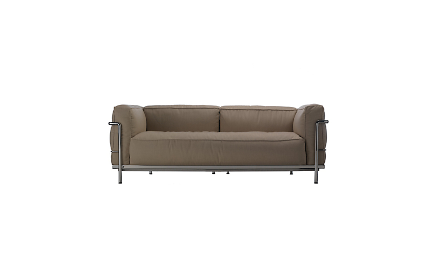 Outdoor LC3 Two-Seater Sofa