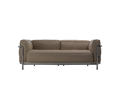 Outdoor LC3 Two-Seat Sofa