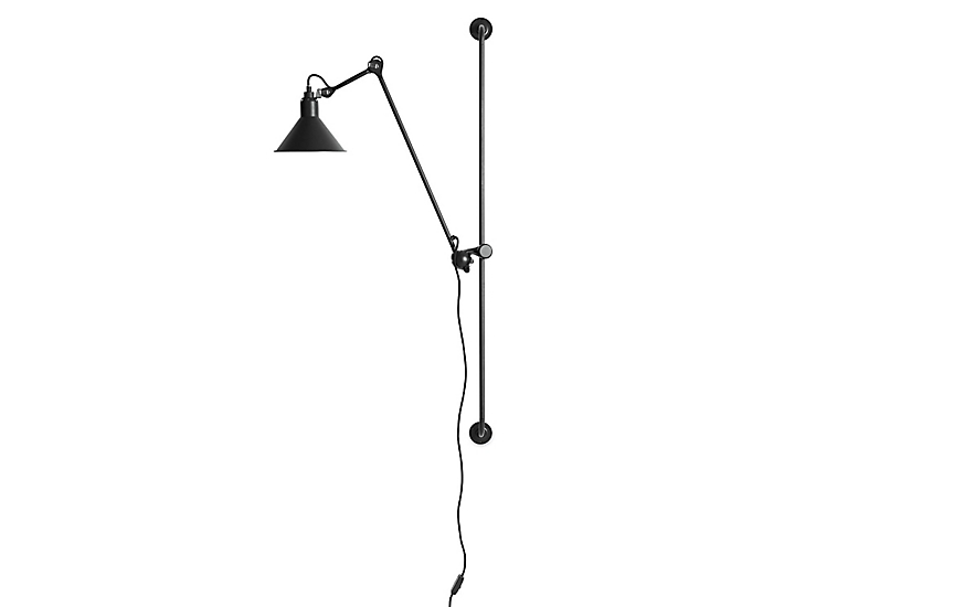 lampe gras model 214 wall lamp design within reach. Black Bedroom Furniture Sets. Home Design Ideas