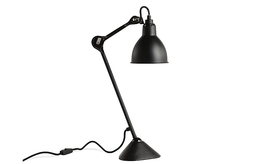 lampe gras model 205 task lamp design within reach. Black Bedroom Furniture Sets. Home Design Ideas