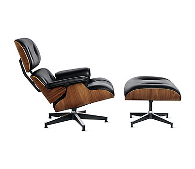 eames lounge and ottoman design within reach. Black Bedroom Furniture Sets. Home Design Ideas