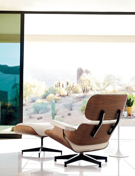 Eames Lounge Chair Walnut Frame Design Within Reach
