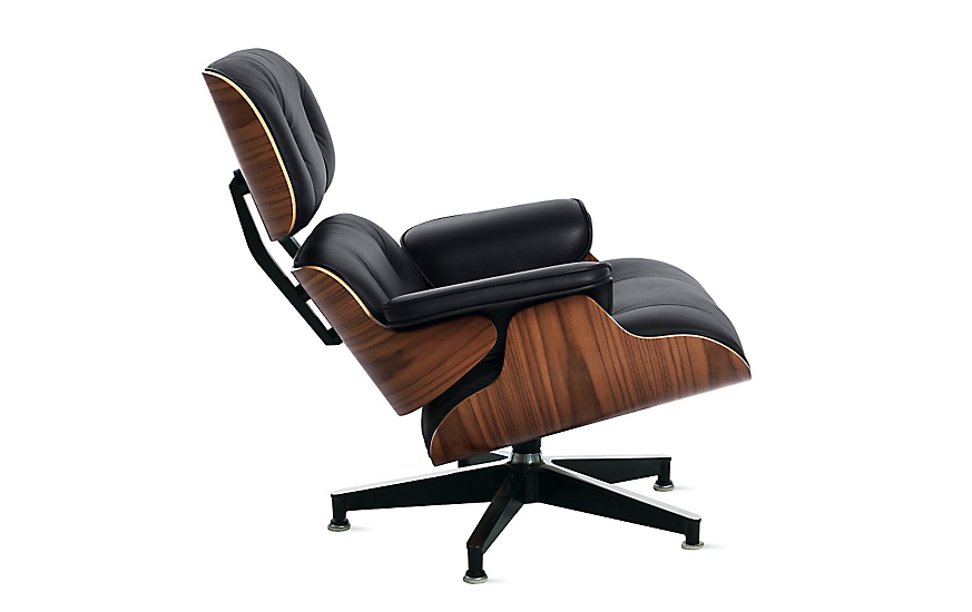 eames lounge chair design within reach. Black Bedroom Furniture Sets. Home Design Ideas