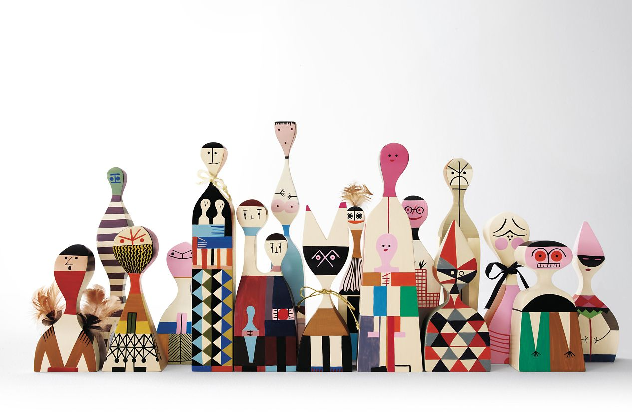 Girard Wooden Dolls Herman Miller
