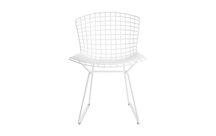 Bertoia Wire Chair bertoia side chair - design within reach
