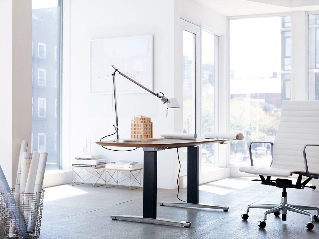 renew™ sittostand desk  design within reach - renew™ sittostand desk